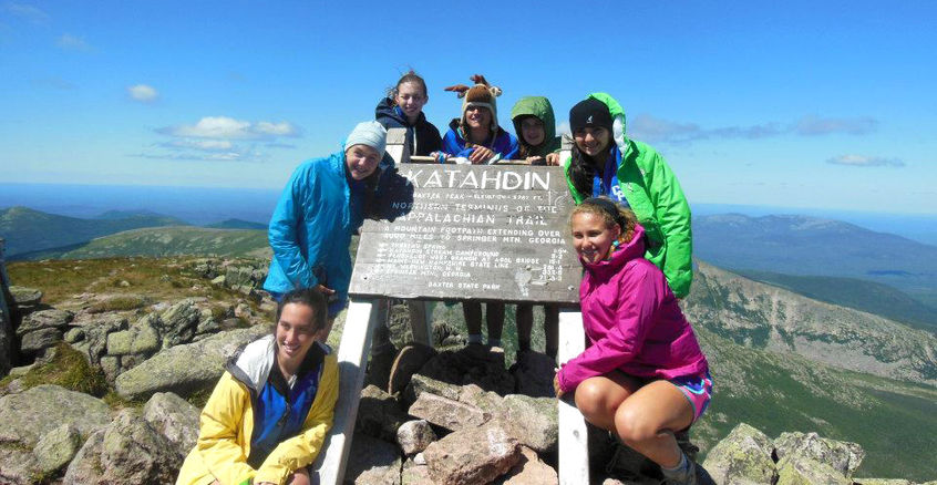 Jungle Campers at Mt. Katahdin