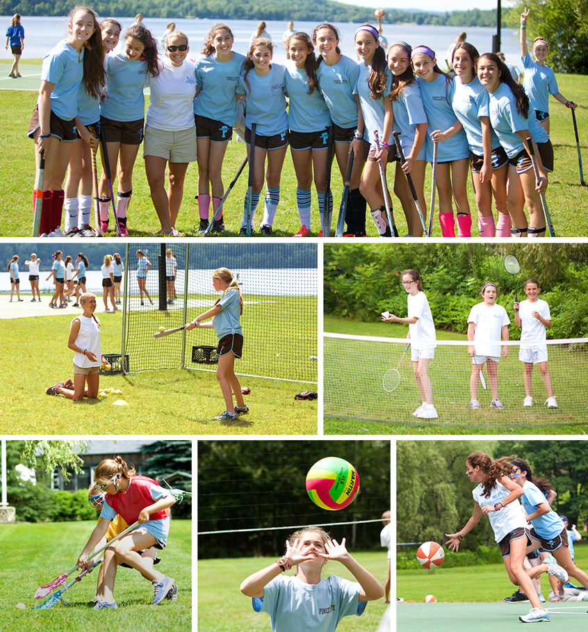 At Pinecliffe, girls learn to balance a healthy competitive spirit with good sportsmanship. Team sports challenge them to work together and grow together.