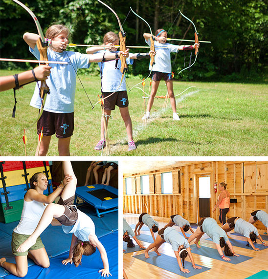 Individual sports such as archery, gymnastics, and yoga develop fine motor skills and flexibility.